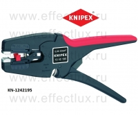 KNIPEX Автоматический инструмент для удаления изоляции MultiStrip 10 L-195 мм. KN-1242195