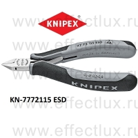 KNIPEX Кусачки боковые для электроники ESD KN-7772115ESD